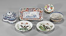Group of Six Various Ceramics