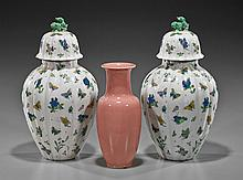 Group Three Asian Porcelain Jars