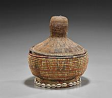 Antique African Woven Basket