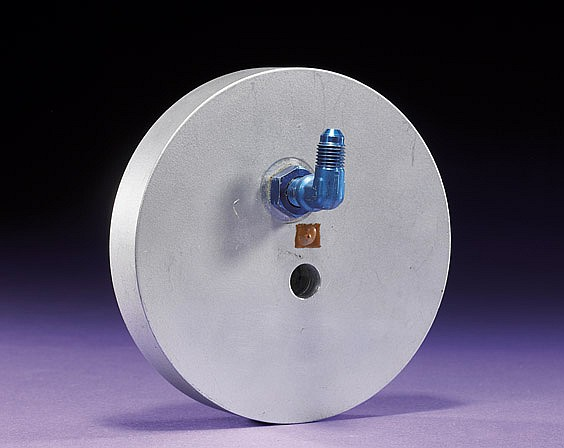 APOLLO LUNAR MODULE CABIN RELIEF AND DUMP VALVE PLUG