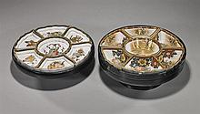 2 Early 20th Century Japanese Sweetmeat Sets