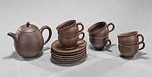 Chinese Yixing Pottery Tea Set