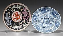 Two Various Chinese Porcelain Dishes