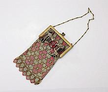 Vintage Ladies' Mesh Vanity Purse