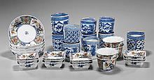 Group of Thirty Pieces Japanese Porcelain Dishware