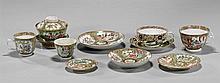 Collection of Rose Medallion Porcelains