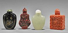 Collection of Eight Snuff Bottles