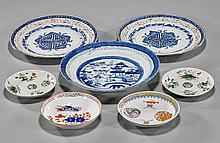 Group of 7 Various Chinese Porcelain Dishes