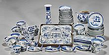 Large Collection of Blue & White Tableware