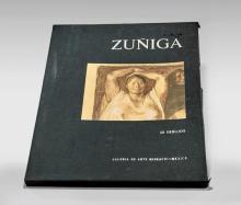 FOUR FRANCISCO ZÚÑIGA LITHOGRAPHS