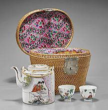 Antique Chinese Porcelain Tea Set