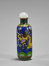 Old Cloisonné Enamel Snuff Bottle