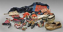 Collection of Textiles, Shoes & Dolls