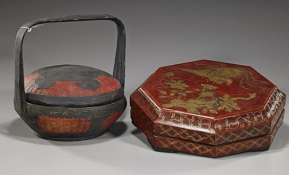 Two Various Chinese Lacquer Boxes