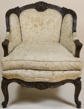 FRENCH ANTIQUE LOUIS XV BERGERE