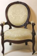 VICTORIAN ANTIQUE ARM CHAIR
