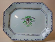 ENGLISH LARGE ADAMS CALYX WARE PLATTER #2546