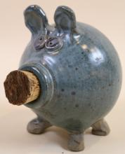 SMITH POTTERY PIG BANK