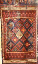 PERSIAN TRIBAL PRAYER RUG