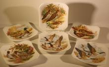 ROYAL ADDERLEY SERVICE/ BUTTER PLATES