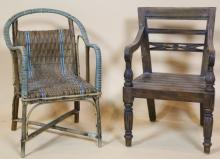 CHILD'S VINTAGE CHAIRS