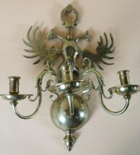 MODERN DOUBLE EAGLE SCONCE
