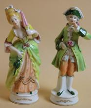 OCCUPIED JAPAN PORCELAIN FIGURINES
