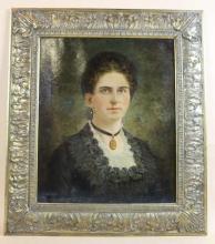 ANTIQUE PORTRAIT OF A LADY OOC