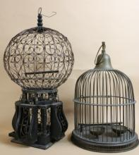VINTAGE BIRD CAGES LOT