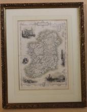MAP OF IRELAND (JOHN TALLIS & CO.) 21