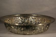 S. KIRK & SON CO. STERLING REPOUSSE LARGE BOWL