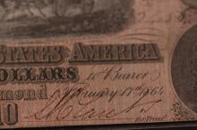CONFEDERATE STATES OF AMERICA TEN DOLLAR NOTE