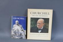 CHURCHILL 1ST. ED., LOT OF BOOKS (2)