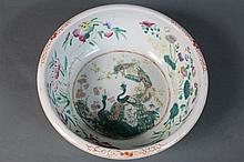 CHINESE EARLY FAMILLE  DRAGON BOWL