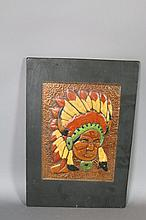 INDIAN COPPER ART PANEL