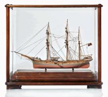 A WELL-PRESENTED MODEL OF THE BARQUE MANILA, CIRCA 1880