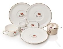 A GROUP OF WHITE STAR LINE PORCELAIN