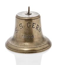THE SHIP'S BELL FROM THE S.S. GERD, 1896,