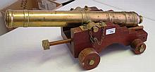 A MID 20TH-CENTURY ROYAL MARINE ENGINEER'S MODEL OF A 19TH-CENTURY NAVAL CA