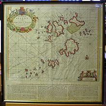 CAPTAIN GRENVILLE COLLINS (1643-1694): 'THE ISLANDS OF SCILLY..', CIRCA 169