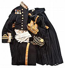 A LT. COMMANDER'S FULL DRESS UNIFORM FOR THE ROYAL NAVY, CIRCA 1920  by