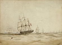 SIR EDWARD AUGUSTUS INGLEFIELD (BRITISH NAVAL SCHOOL, 1820-1894)