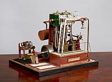 A MODEL ENGINE MODEL FOR THE RECIPROCATING STEAM ENGINE FROM TITAN 2