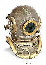 A SIX-BOLT ADMIRALTY-PATTERN DIVING HELMET BY SIEBE GORMAN & CO. LTD., NO. 13202