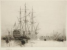 WILLIAM LIONEL WYLLIE R.A. (BRITISH, 1851-1931)