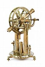 A RARE 16.5IN. GEODETIC THEODOLITE OR PORTABLE ALTAZIMUTH REPEATING CIRCLE BY TROUGHTON & SIMMS, LONDON, 1829