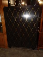 Barbara Barry  Ebony Stained Armoire
