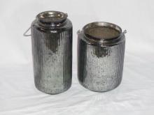 Mercury Glass Containers