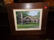 Framed Painting   $50.00
