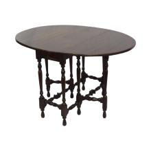 English Gate Leg Mahogany Drop Leaf Table